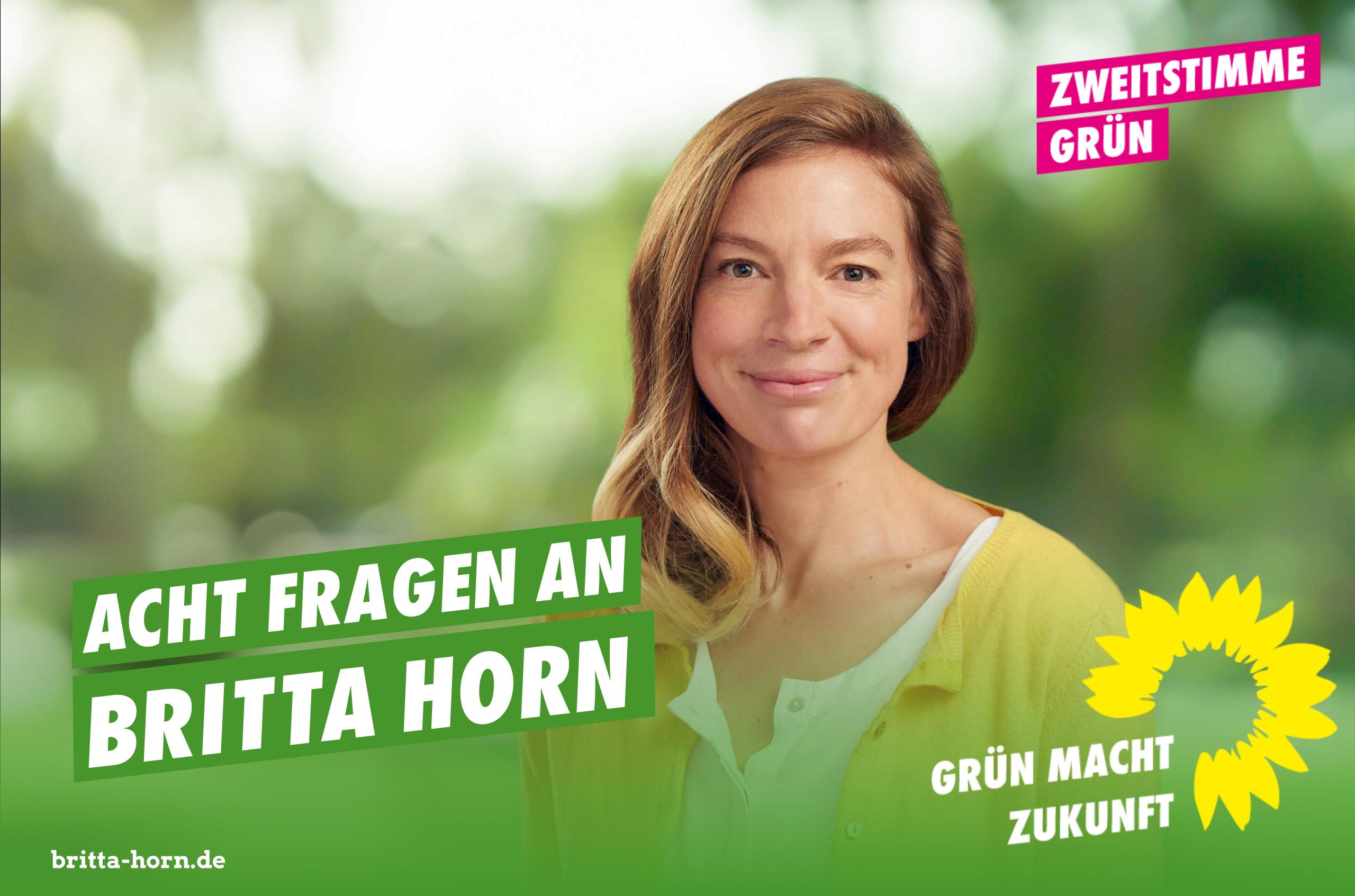 Acht Fragen an Britta Horn