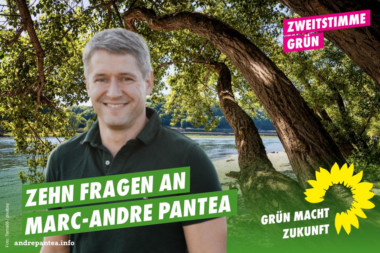 Zehn Fragen an Marc-Andre Pantea