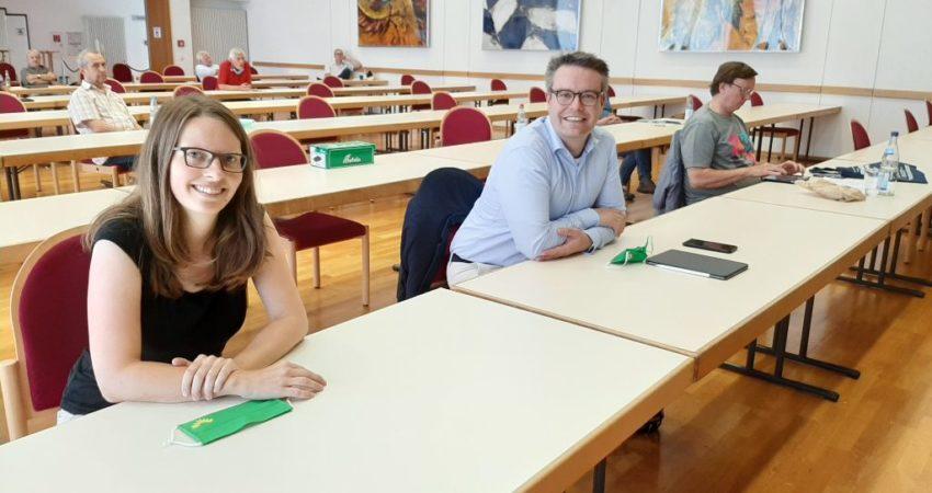 Grüne SüW in Edenkoben - mit Tobias Lindner und Lea Heidbreder