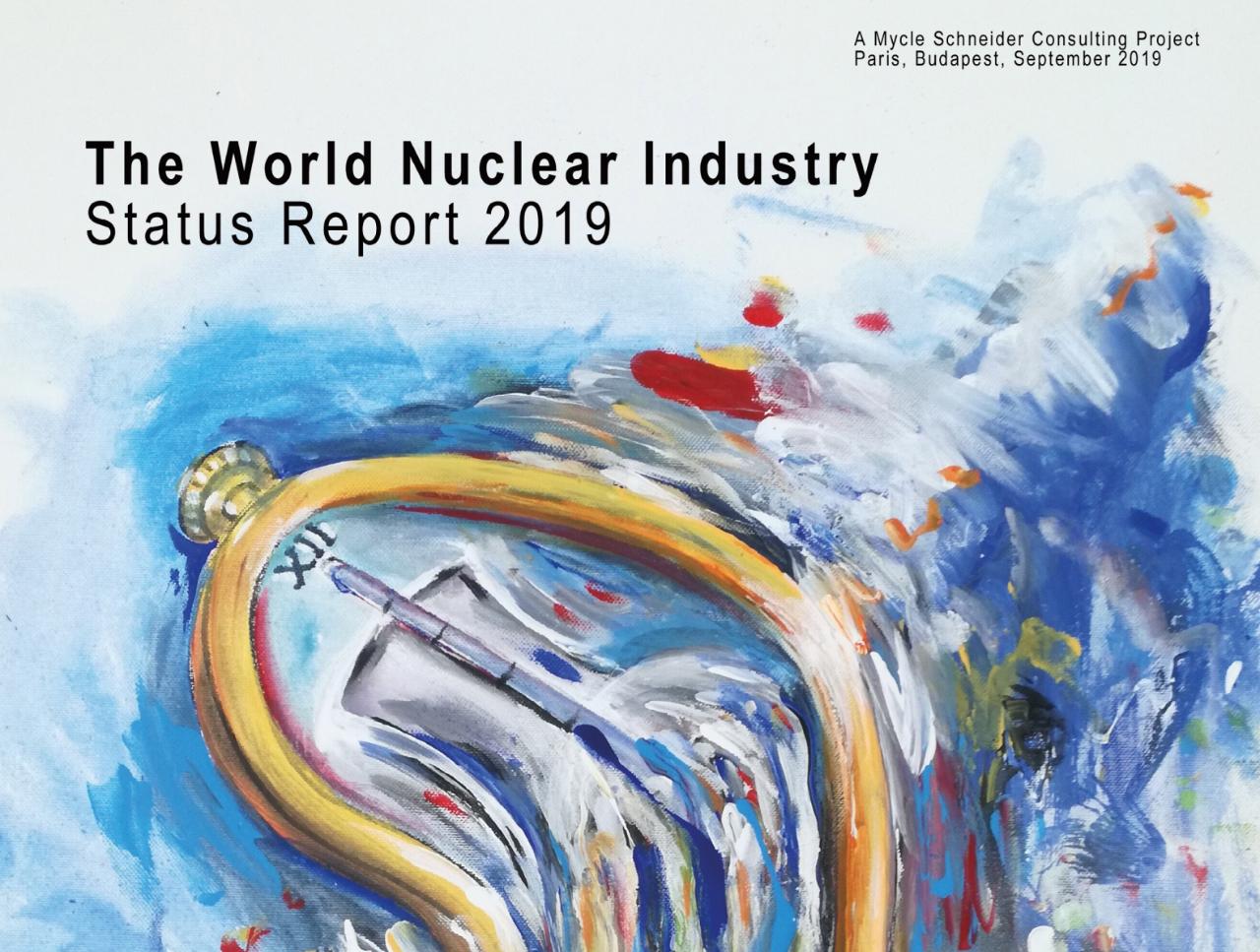 Präsentation des World Nuclear Industry Status Report 2019 in Brüssel