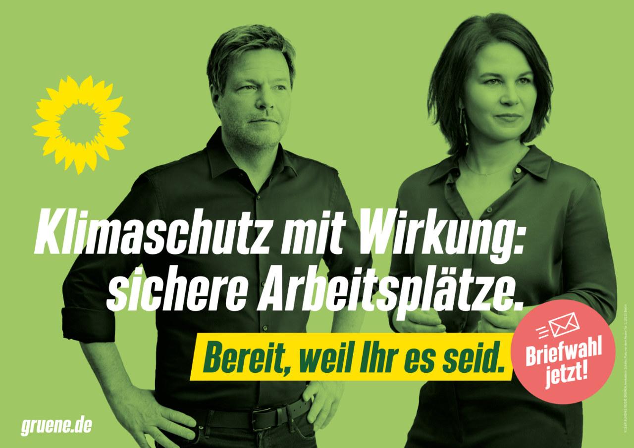 Bereit, weil Ihr es seid. Bundestagswahlkampf 2021