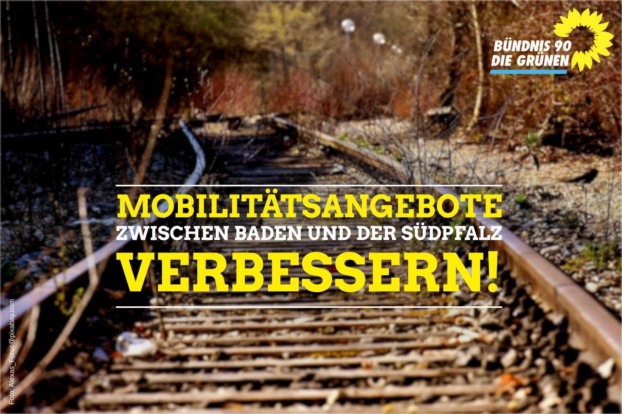 Mobilitätsangebote zwischen der Südpfalz und Baden verbessern!