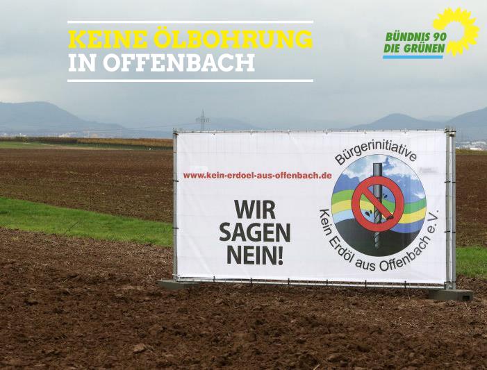 Offenbach gegen Erdöl
