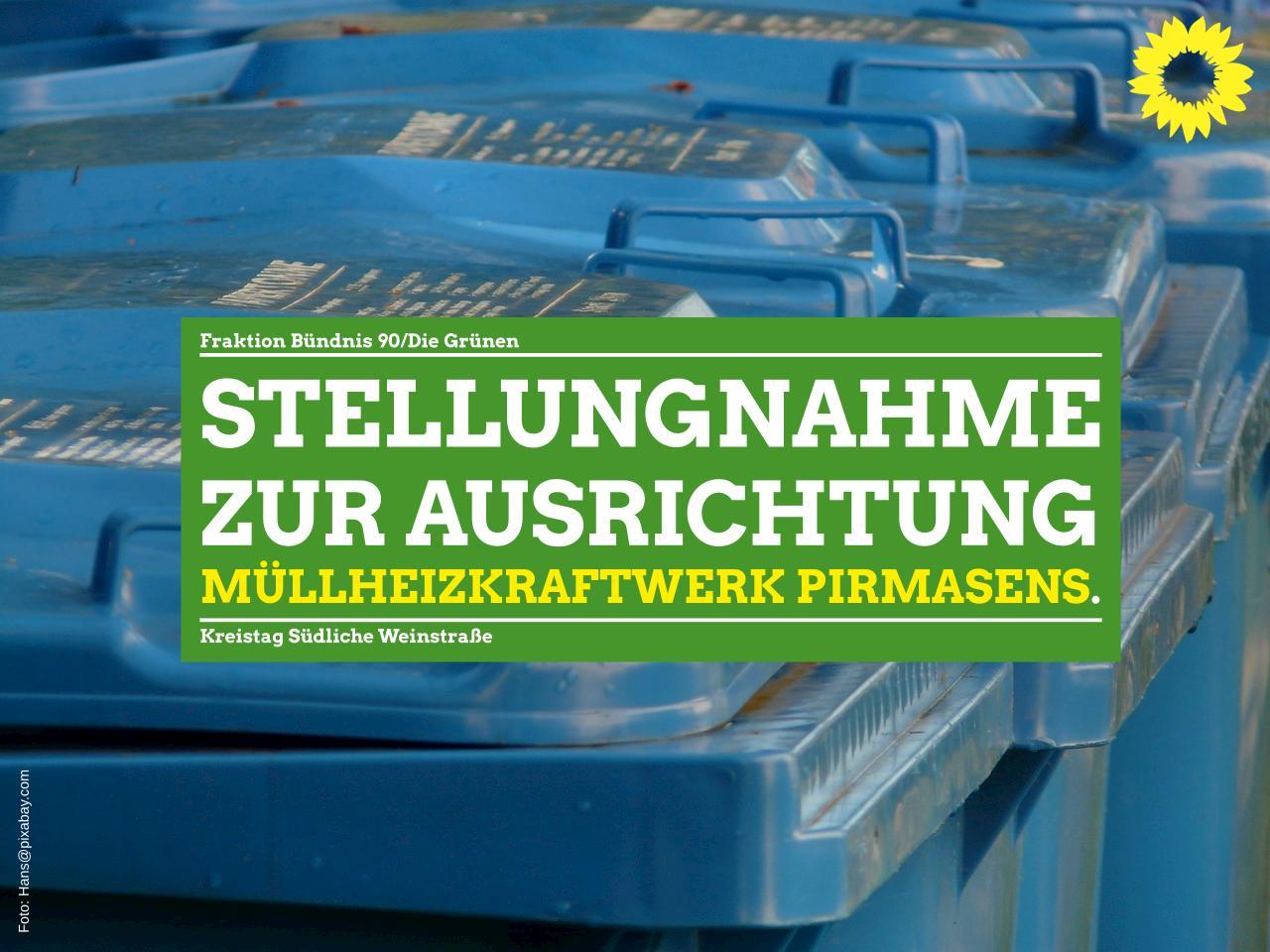 Stellungnahme zum TOP Ö5 Zweckverband Abfallverwertung Südwestpfalz (ZAS): Zukünftige Ausrichtung des Müllheizkraftwerks Pirmasens